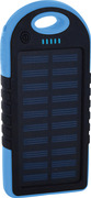 TechConnect Rugged Shock Resistant 5000mAh Solar Power Bank Backup Battery