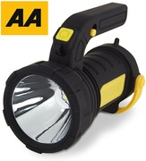AA 2 in 1 5W High Power Spotlight Torch & 12 SMD LED Lantern